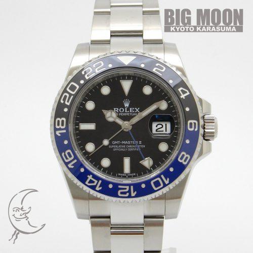 ROLEX ロレックス GMTマスターⅡ 116710BLNR ランダムシリアル