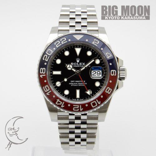 ROLEX ロレックス GMTマスターⅡ 126710BLRO ランダムシリアル