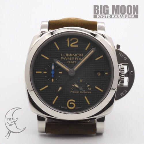 PANERAI パネライ ルミノール1950 3デイズ GMT パワーリザーブ オートマティック アッチャイオ PAM01537